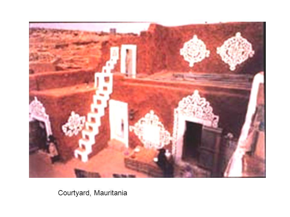 Courtyard, Mauritania