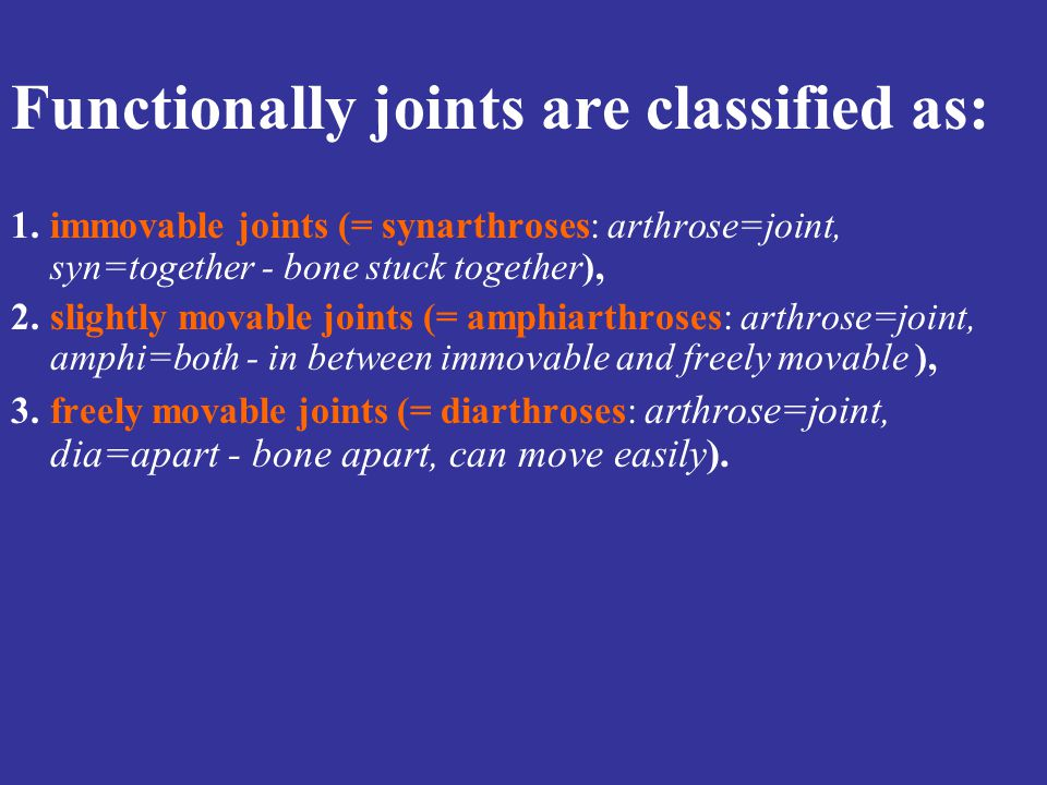 SYNOVIAL JOINTS: Pivot A rounded, pointed or conical surface of one bone is inserted into a ring made partly of another bone and partly of a ligament.