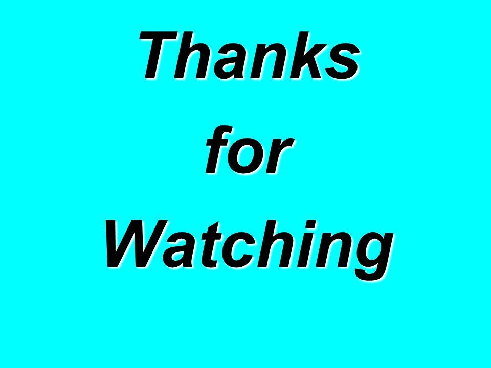 ThanksforWatching