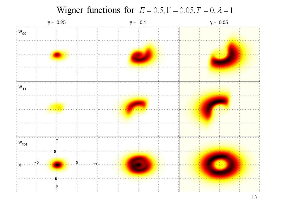 13 Wigner functions for