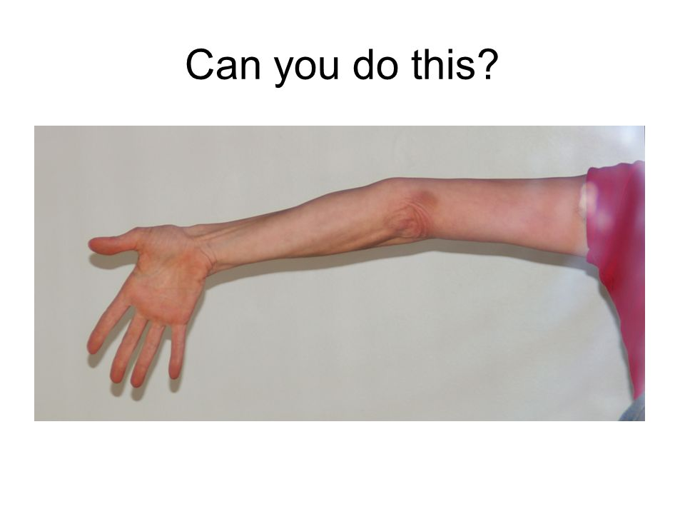 Can you do this