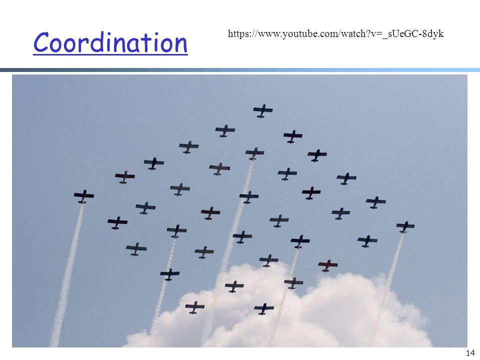 Coordination 14 https://www.youtube.com/watch v=_sUeGC-8dyk