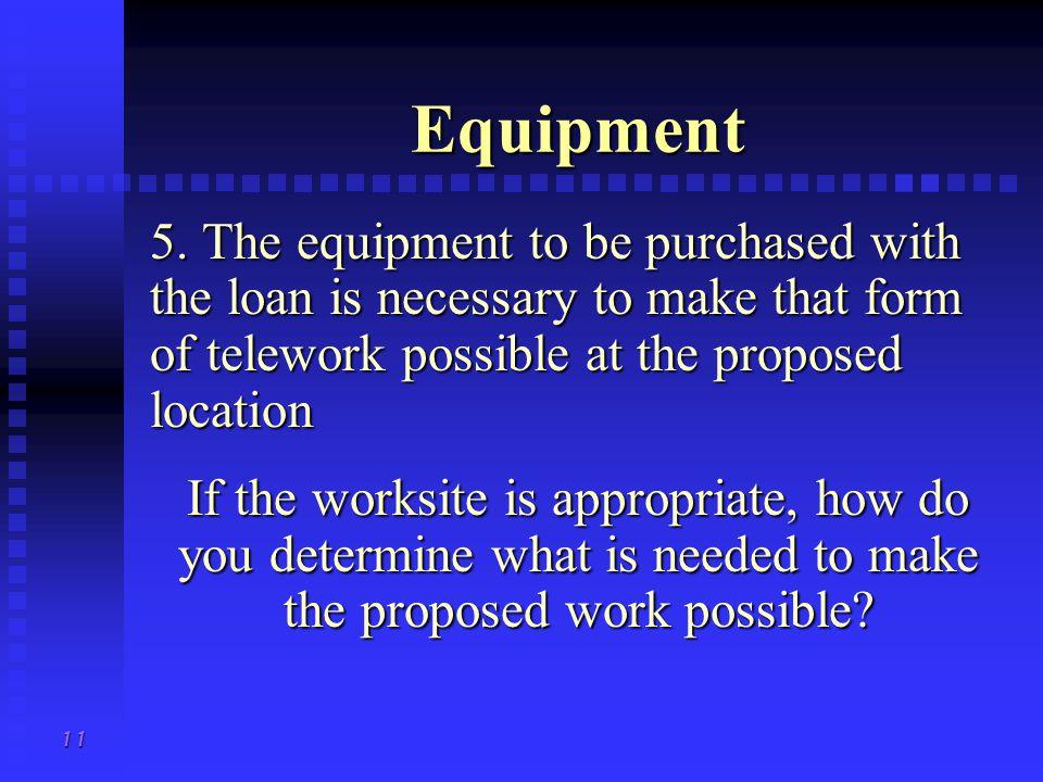 11 Equipment 5.