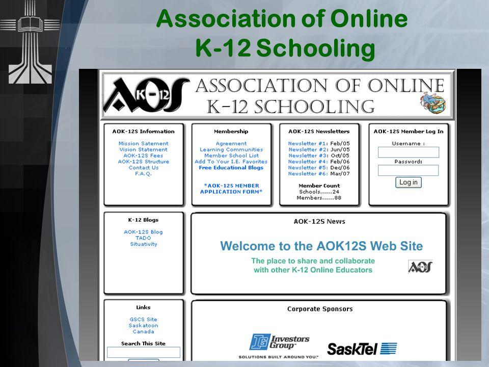 Association of Online K-12 Schooling