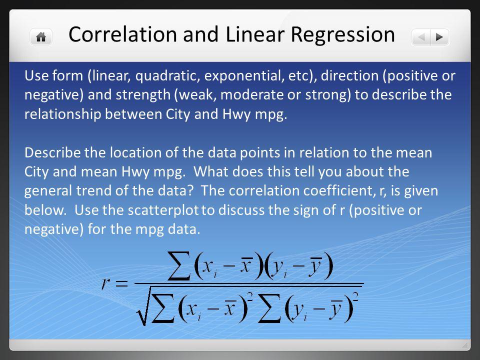 Open the Correlation.ftm file.
