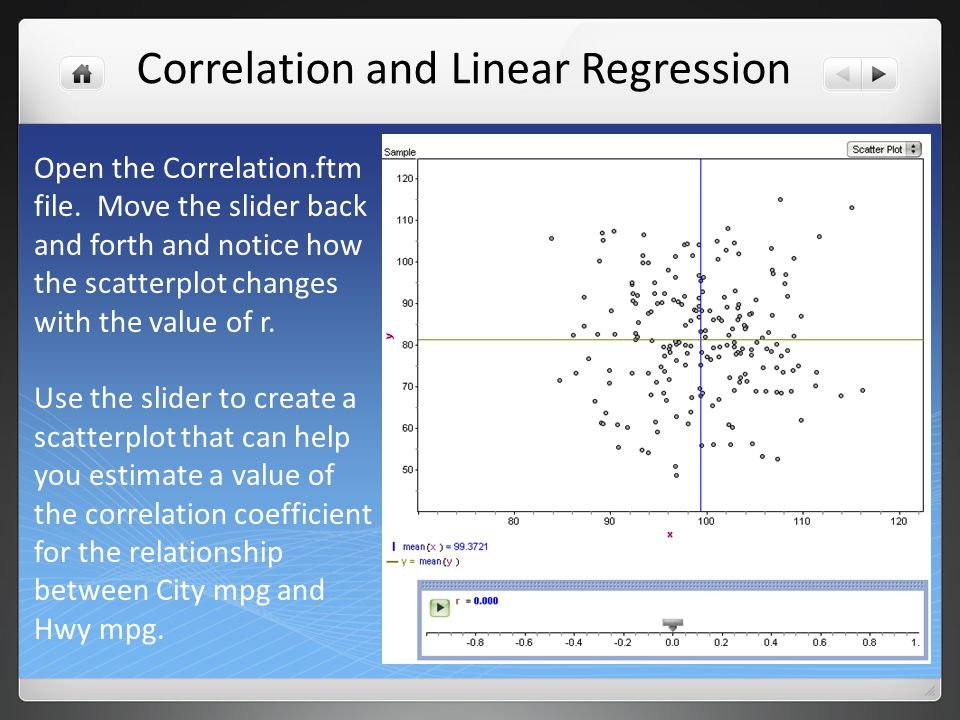 The linear correlation coefficient, r, measures the strength and direction of the linear association between two variables.