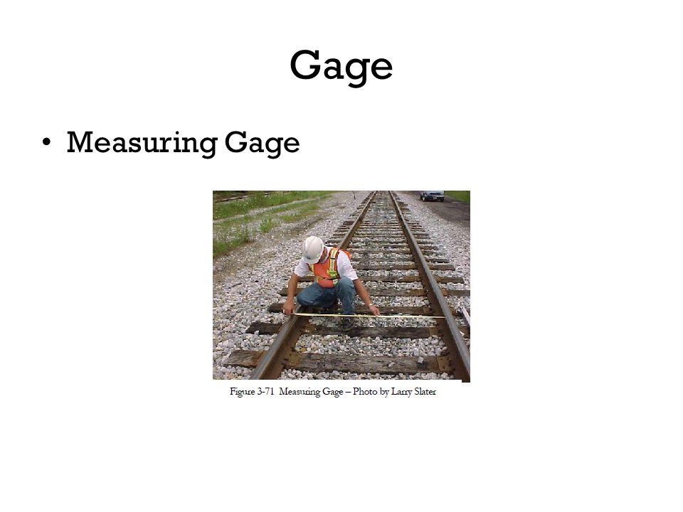 Gage Measuring Gage