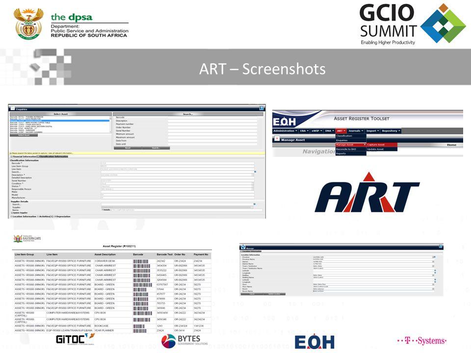 ART – Screenshots