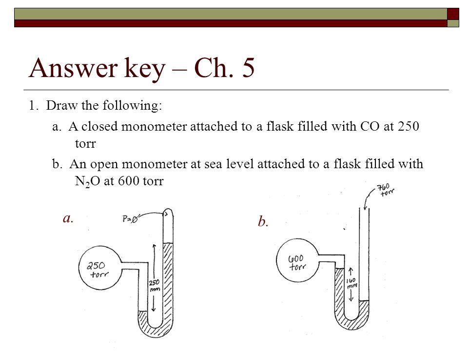 Answer key – Ch.5 1. Draw the following: a.