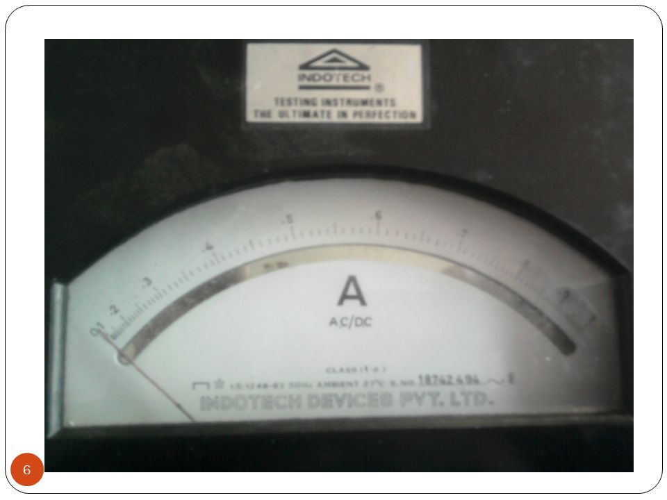 Ammeters are connected in series in the circuit whose current is to be measured.