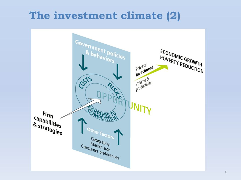 5 The investment climate (2)
