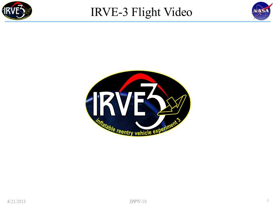 IRVE-3 Flight Video 6/21/2013IPPW-107