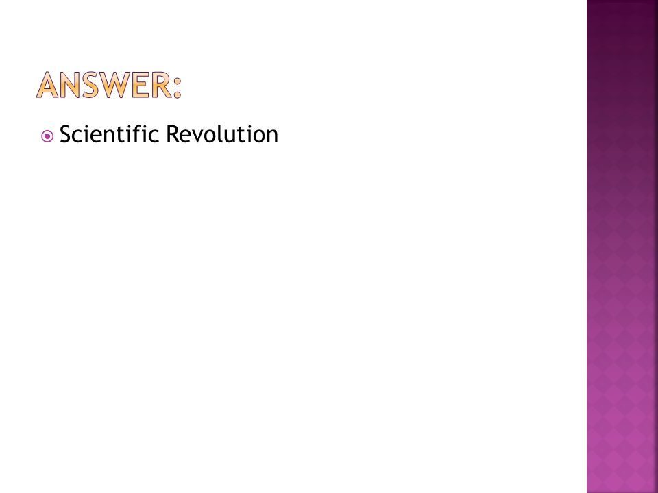  Scientific Revolution