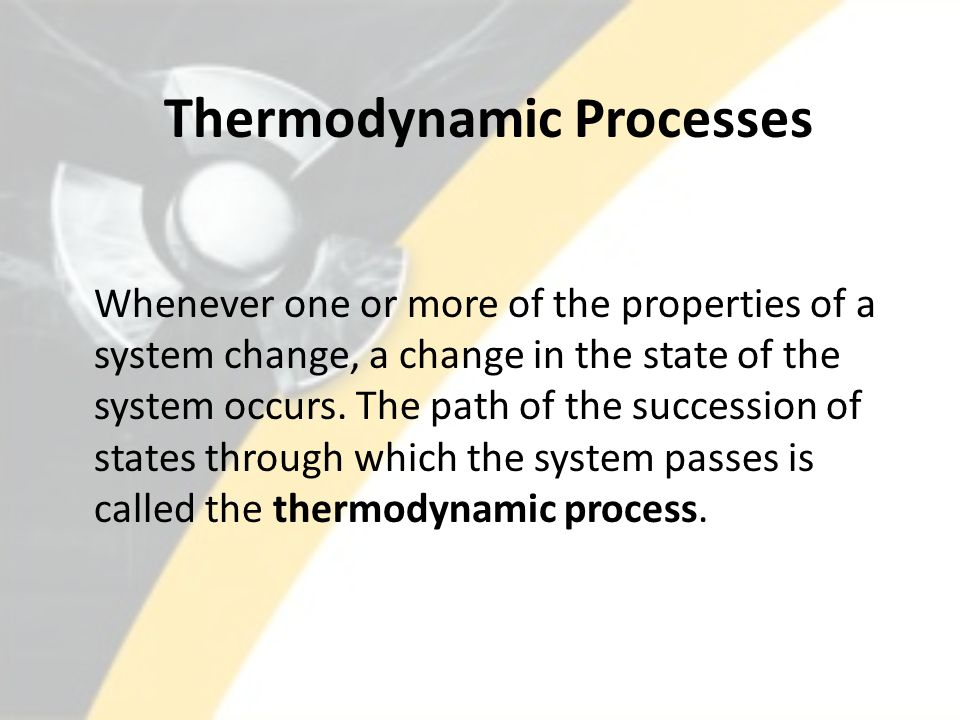 Thermodynamic Systems and Processes Summary A thermodynamic system is a collection of matter and space with its boundaries defined in such a way that the energy transfer across the boundaries can be best understood.