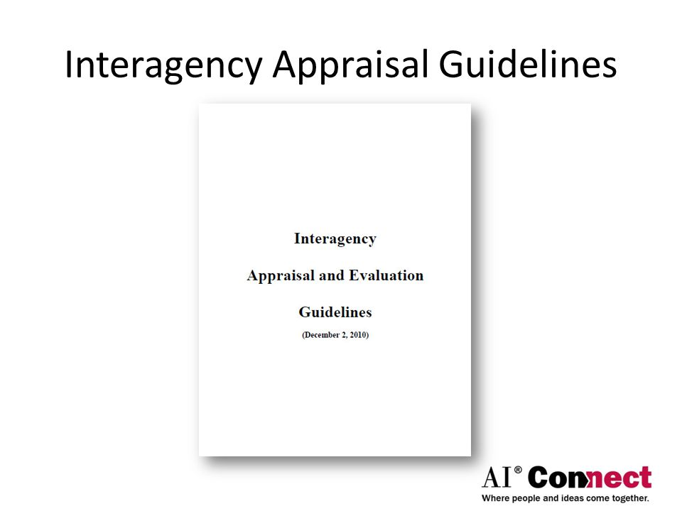 Interagency Appraisal Guidelines