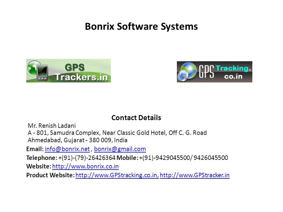 Bonrix Software Systems Contact Details Mr.