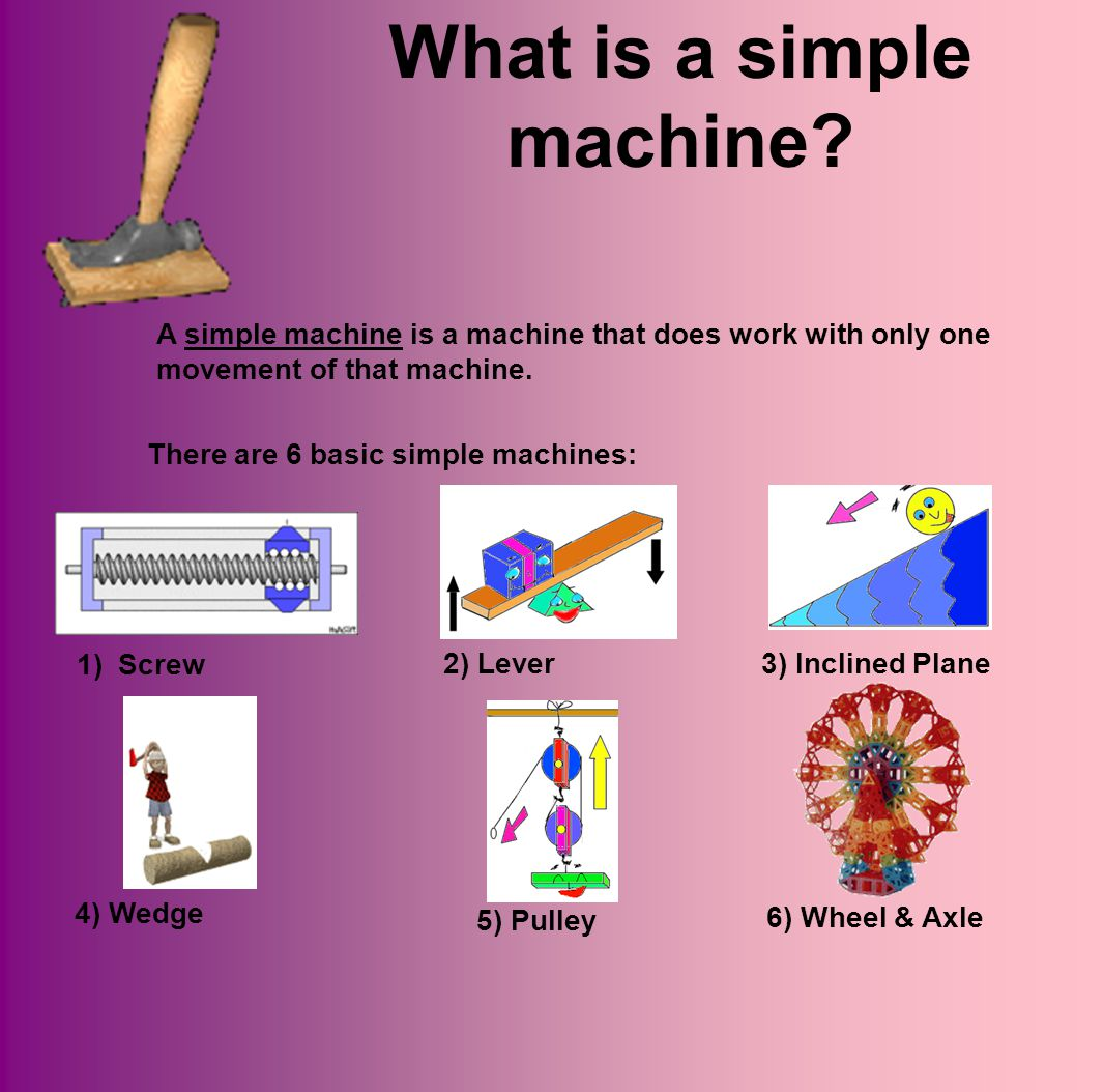What is a simple machine.