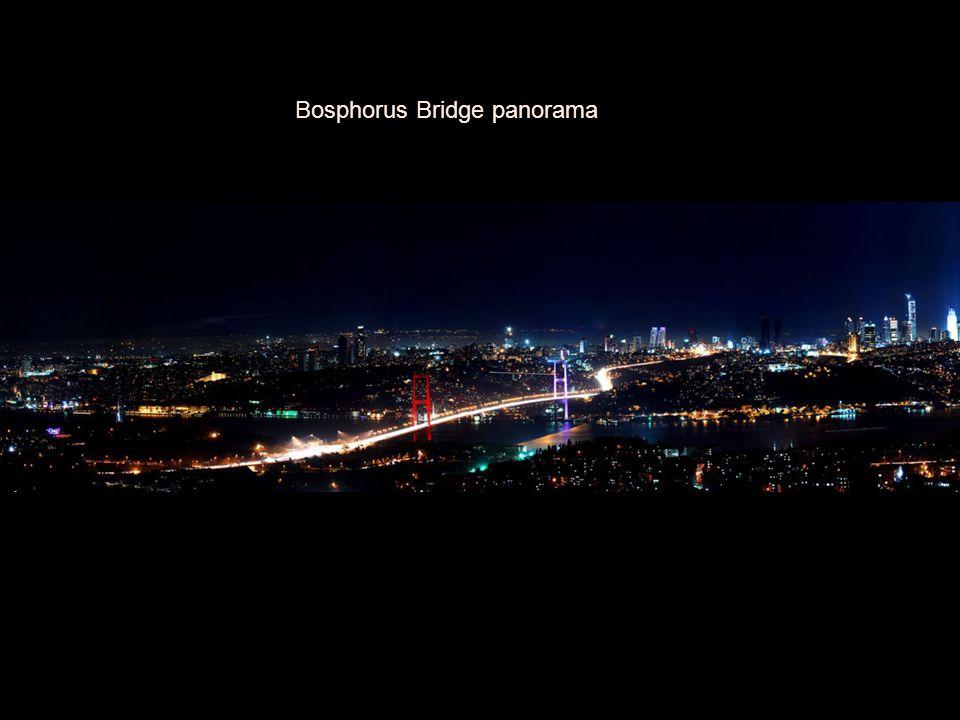 Bosphorus Bridge panorama