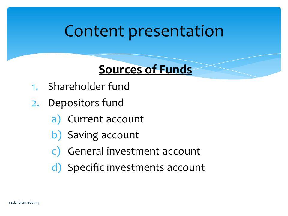  Contract used : Musyarakah (joint – venture profit sharing).
