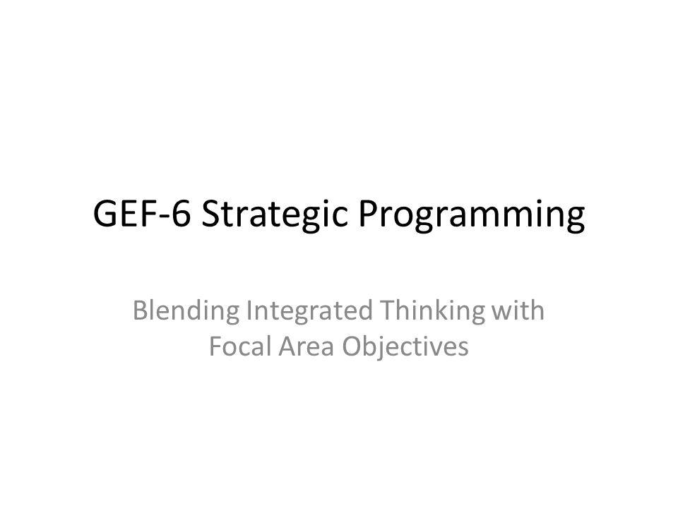 GEF-6 BD Strategy 10.