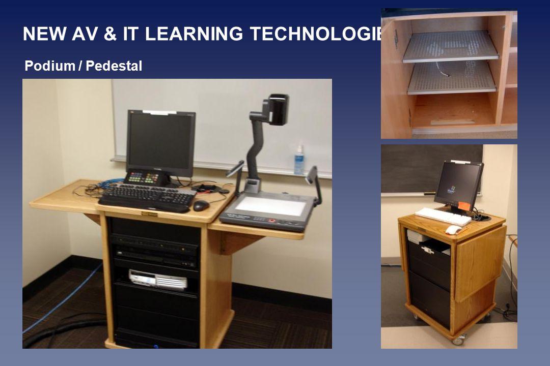 NEW AV & IT LEARNING TECHNOLOGIES Podium / Pedestal