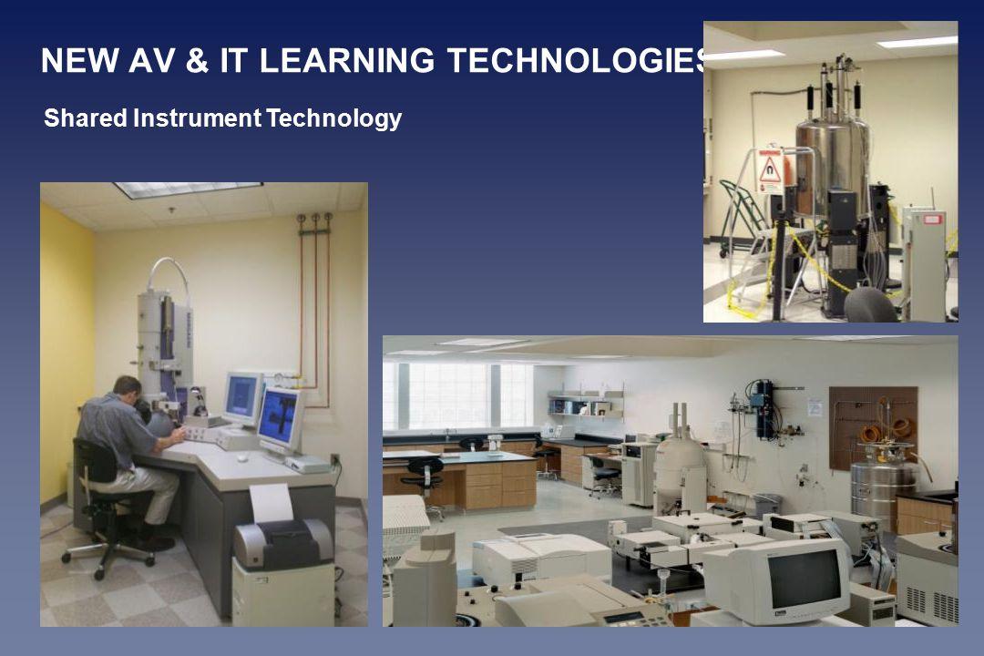 NEW AV & IT LEARNING TECHNOLOGIES Shared Instrument Technology