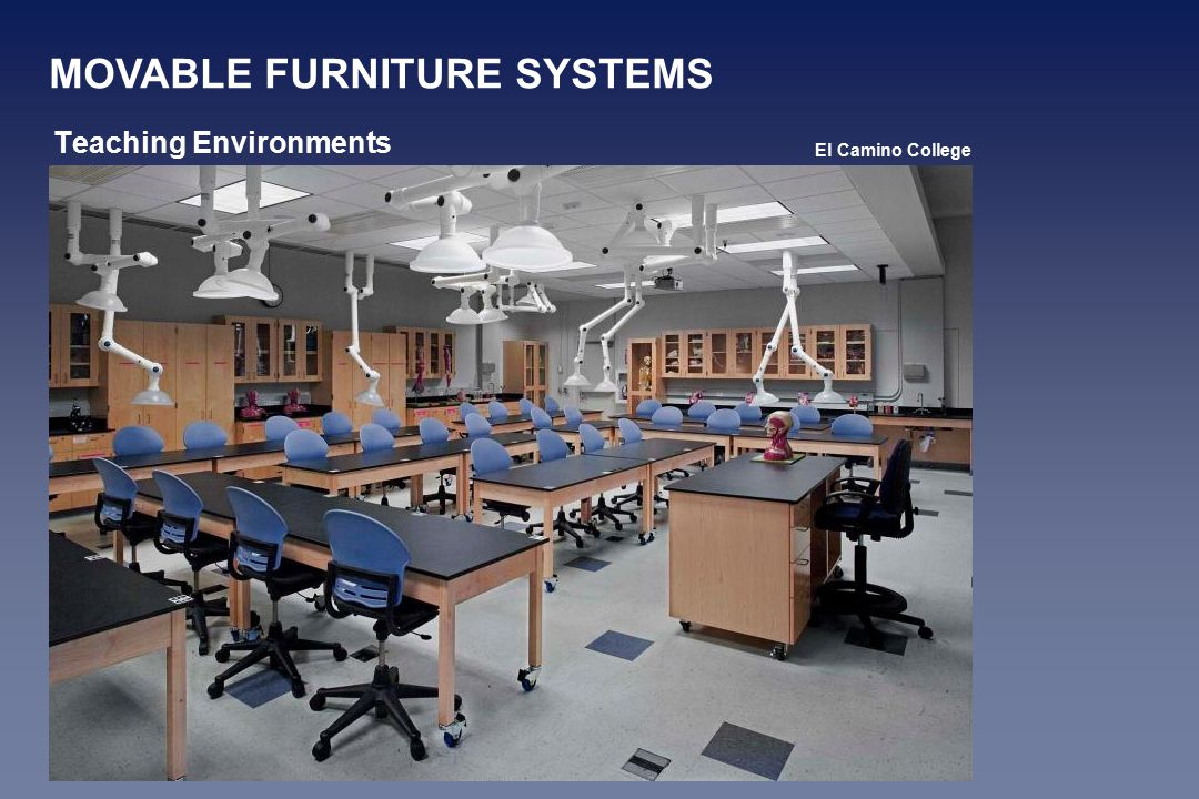 Teaching Environments MOVABLE FURNITURE SYSTEMS El Camino College