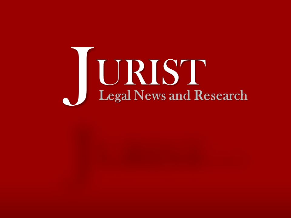 Legal News and Research URISTURIST JJ