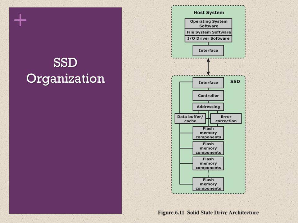 + SSD Organization
