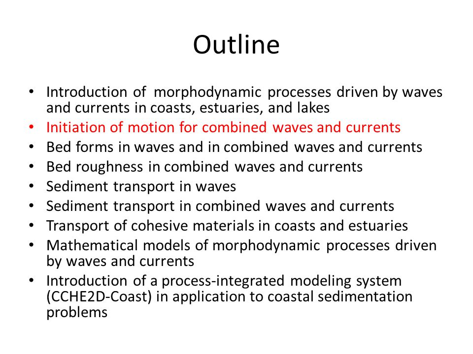 Examples and Questions A coastal sea has a water depth of h = 5m.