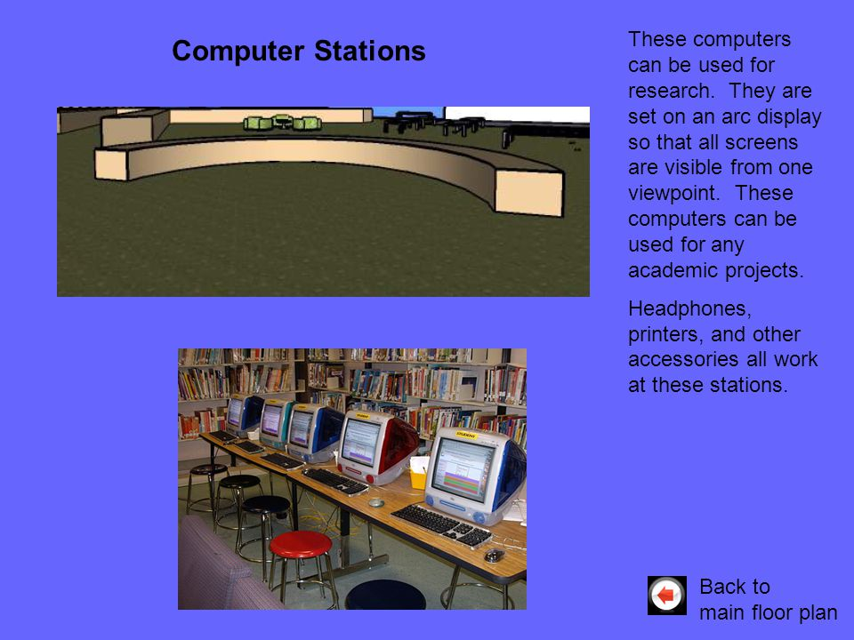 These computers can be used for research.