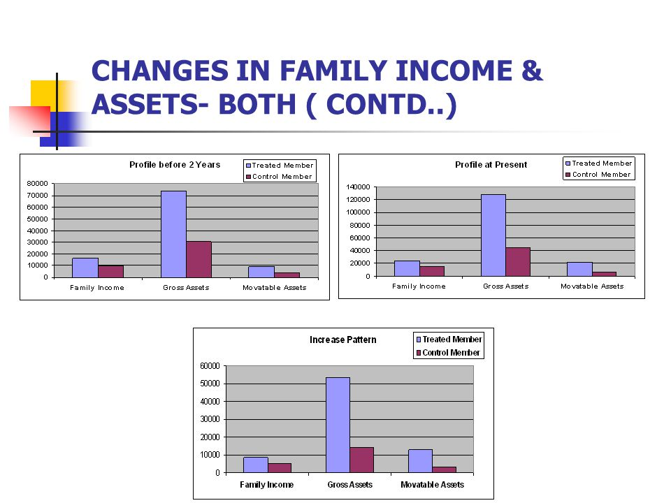 CHANGES IN FAMILY INCOME & ASSETS- BOTH ( CONTD..)