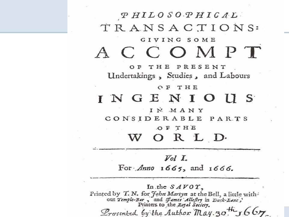 4 Scientific Journals Acceleration around 1760 Since then: doubling every 15-20 years (Springer 1842.