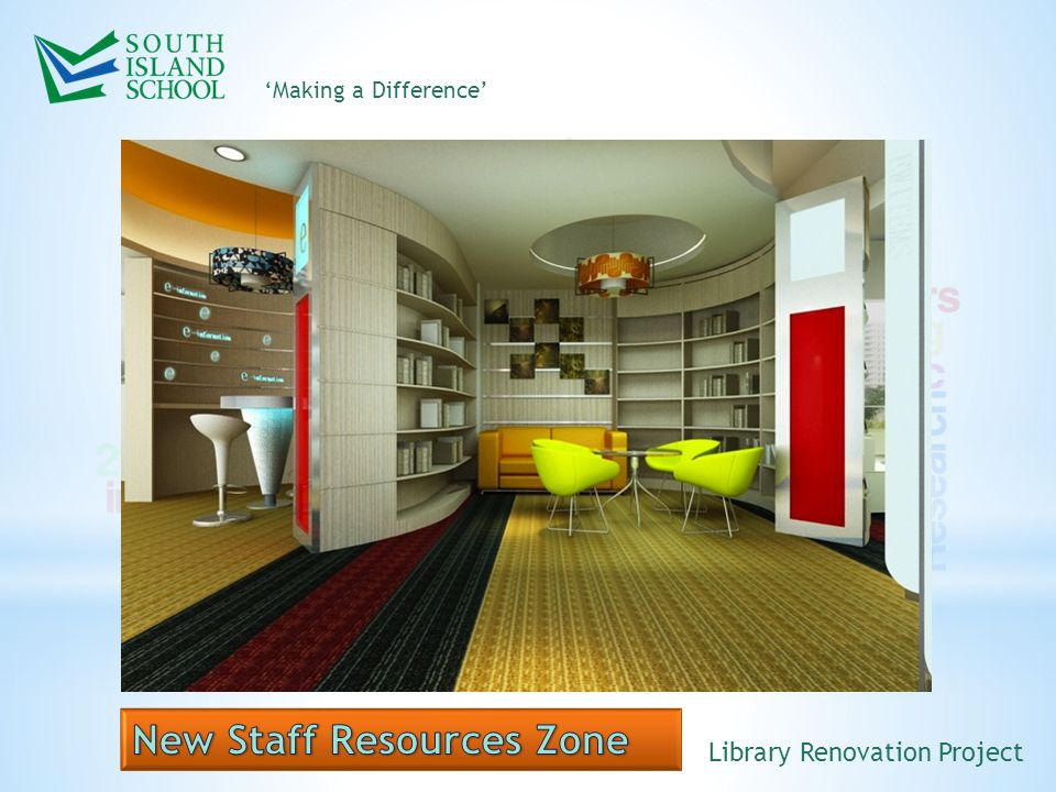 'Making a Difference' Library Renovation Project