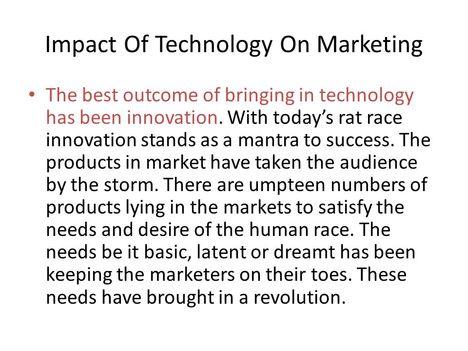 The basic definition and concepts of marketing haven't changed for many decades.