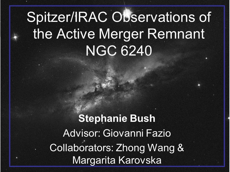 IRAC 1 (3.6  m) & 2 (4.5  m) on B Dust Stars Bush, S. et al. 2007