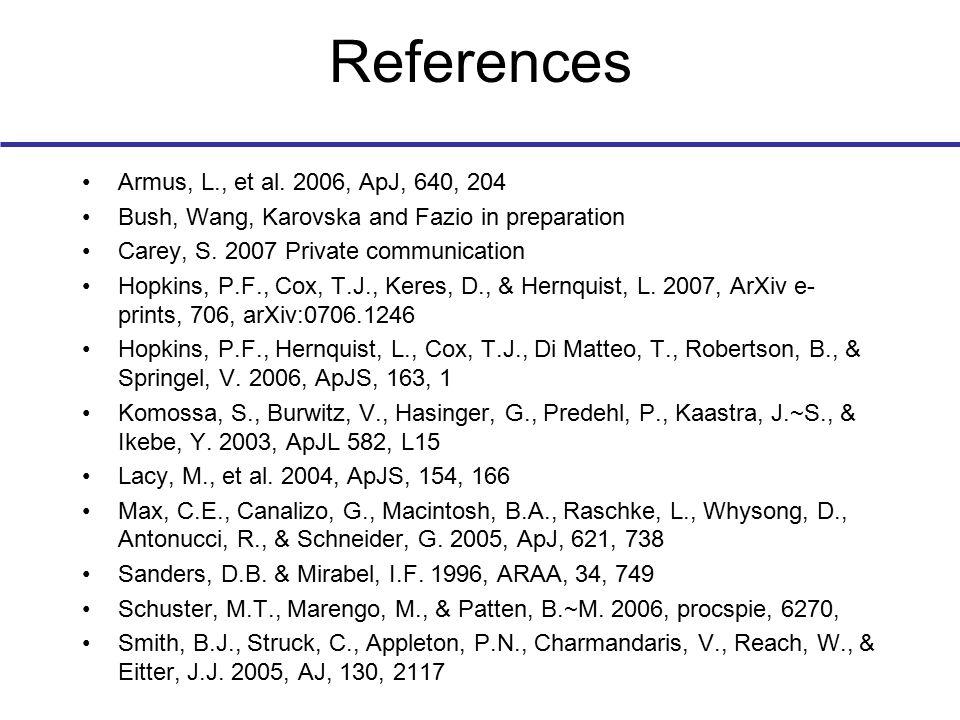 References Armus, L., et al.