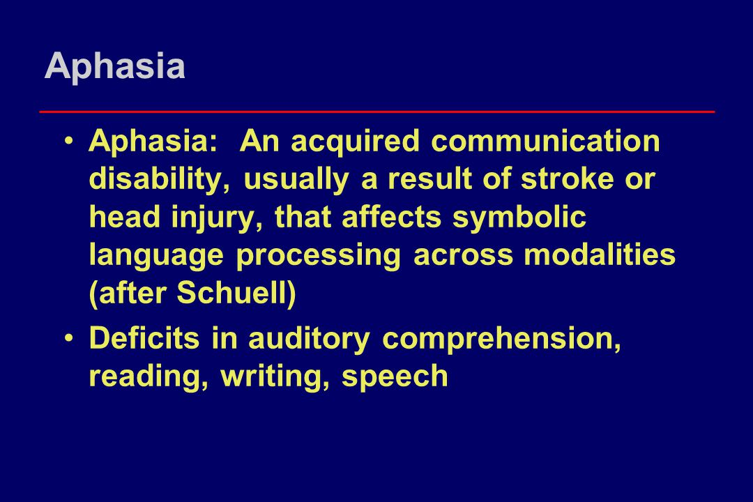 Aphasia Intervention: Remnant Book Vehicle for sharing information, social closeness No expectations for regulating behavior Promotes topic generation and initiation for user and partner Stimulates appropriate voluntary motor response: page turning, pointing