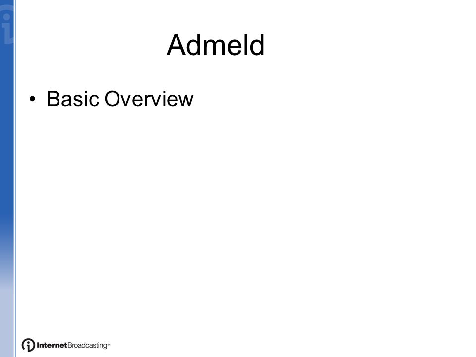 Admeld Basic Overview