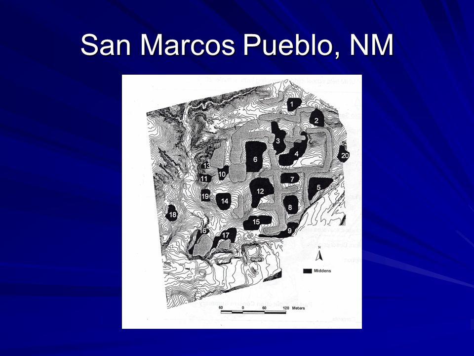 San Marcos Pueblo, NM
