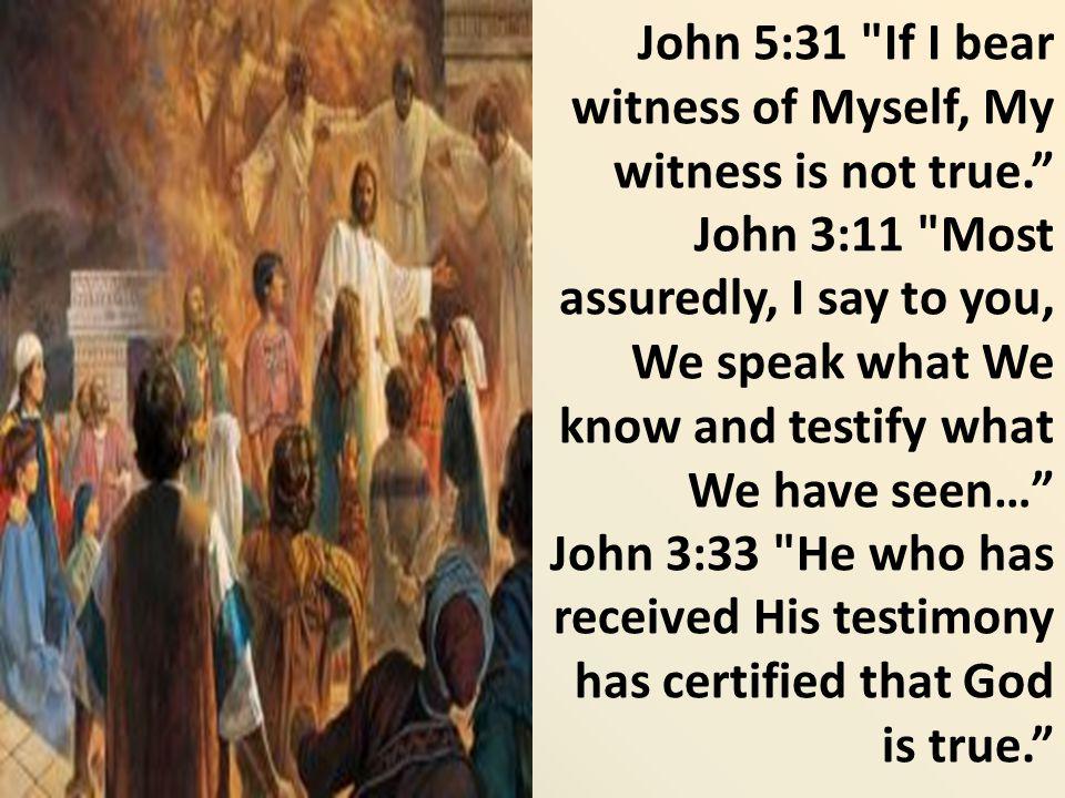 John 5:31