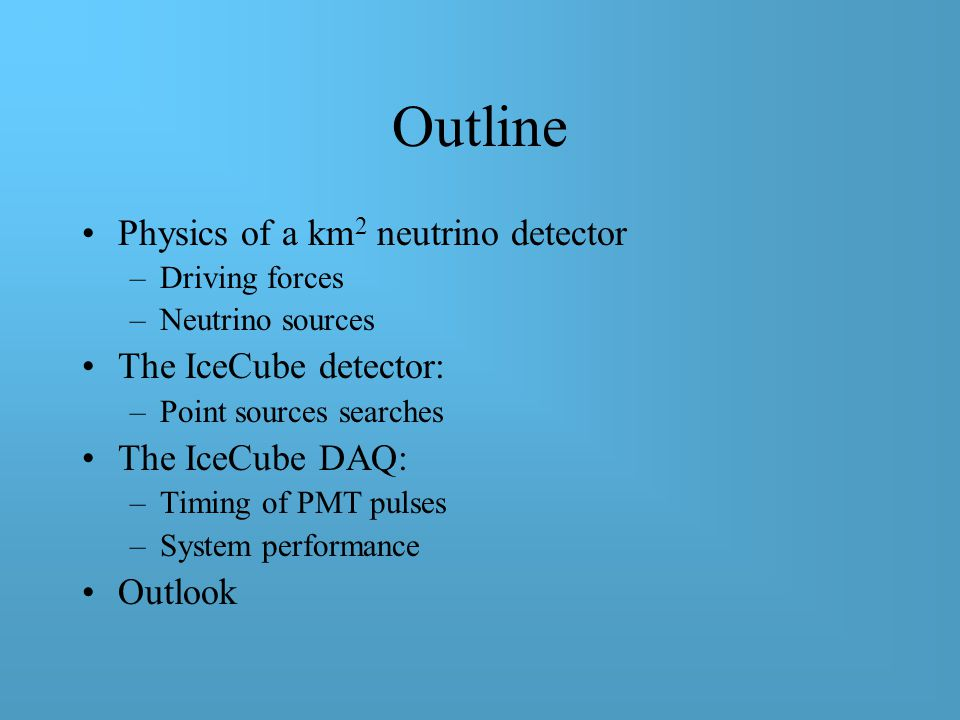 Entering the Kilometer-Square Era of High Energy Neutrino Detection Azriel Goldschmidt INPA Journal Club, LBNL, Berkeley, Nov.