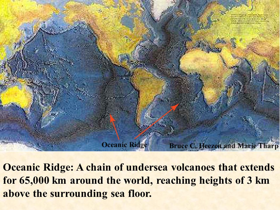 Sea Floor Stripes Arose from studies of magnetic anomalies on the sea floor. Measurements of magnetic field strength were made across a segment of the