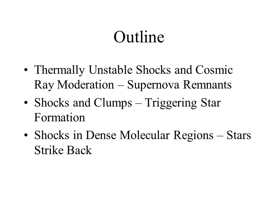 Previous studies of dusty C-type shocks Perpendicular steady shocks (Draine, Roberge & Dalgarno 1983) Oblique steady shocks (Pilipp & Hartquist 1994)  only intermediate-mode shocks Oblique fast-mode shocks (Wardle 1998) Time-dependent models (Ciolek & Roberge 2002)  decouple v // and v 