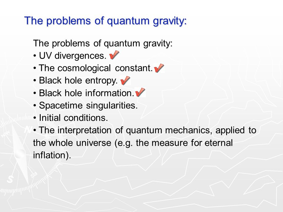 The problems of quantum gravity: UV divergences. The cosmological constant.