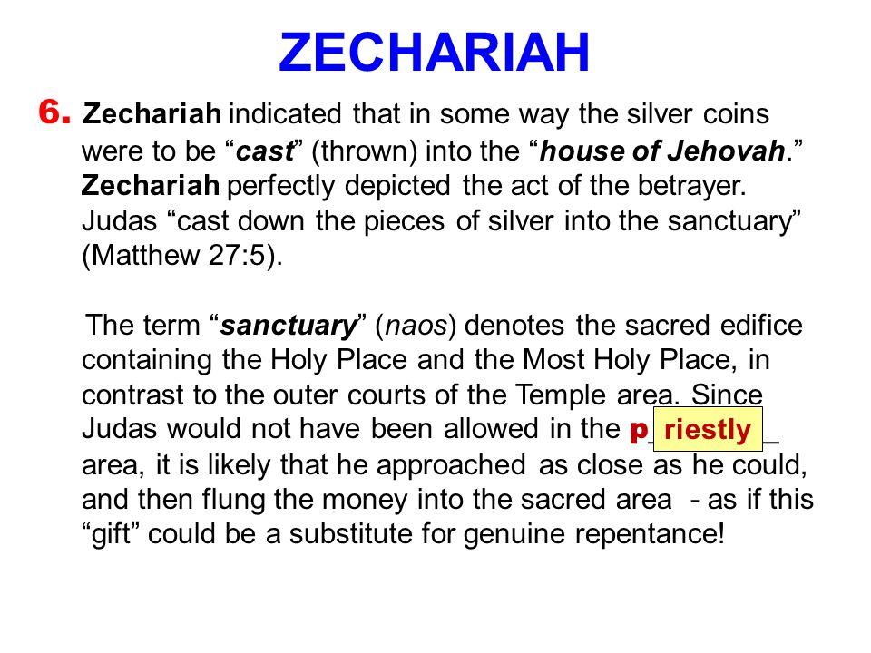 ZECHARIAH 6.