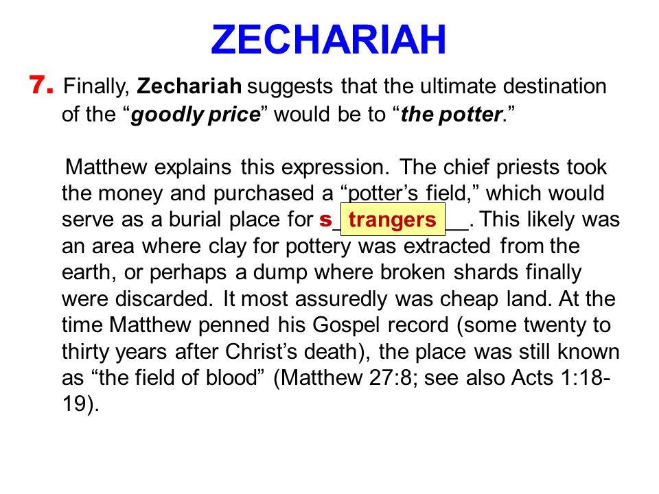 ZECHARIAH 7.