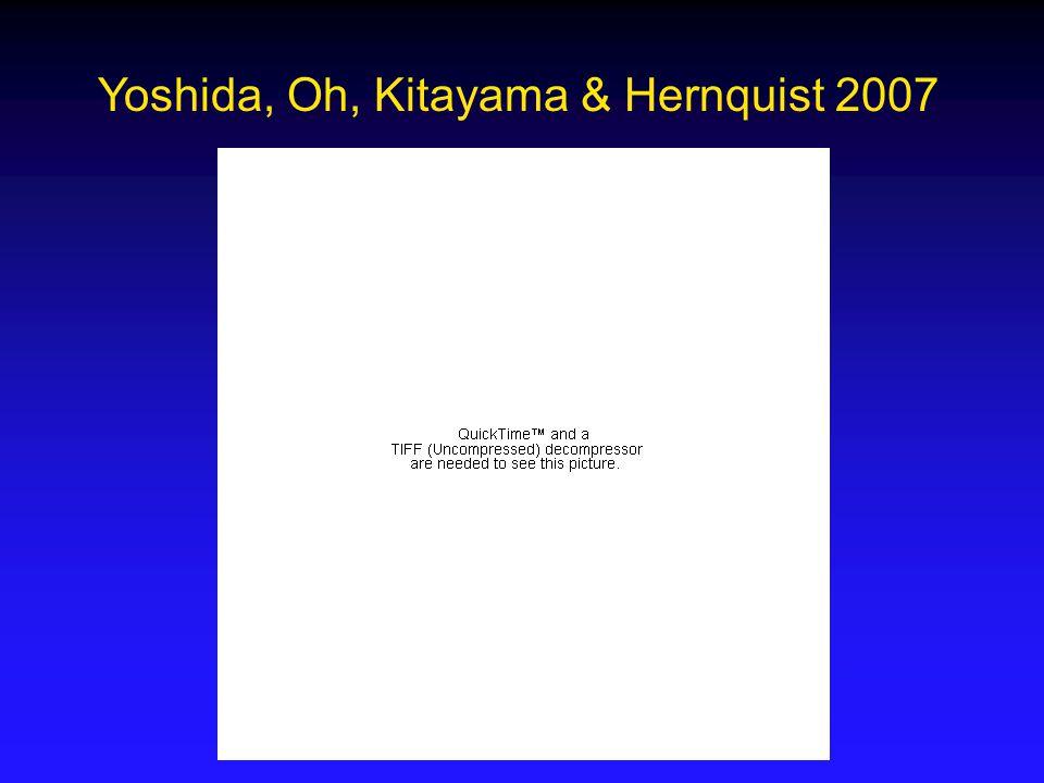 Yoshida, Oh, Kitayama & Hernquist 2007