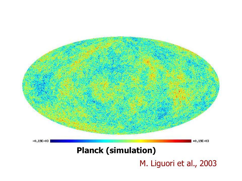 Planck (simulation) M. Liguori et al., 2003