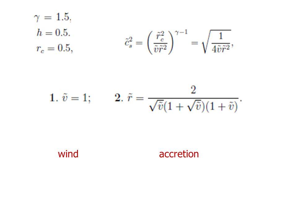 wind accretion